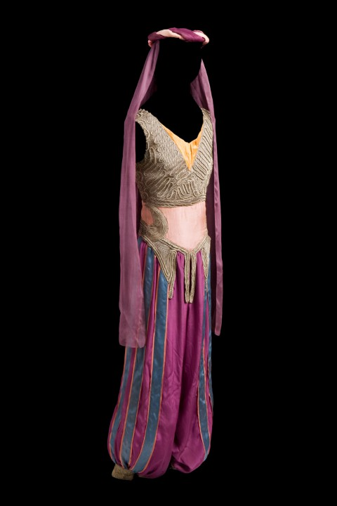 LEON BAKST COSTUME FOR ALMEE Scheherezade (executed in 1930, after 1910 design)