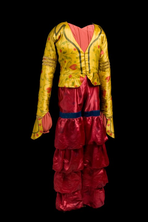 LEON BAKST COSTUME FOR A YOUTH Sheherazade Late 1930s